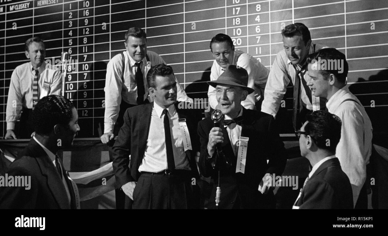 Prod DB © Columbia Pictures Corporation / DR LA DERNIERE FANFARE THE LAST HURRAH de John Ford 1958 USA James Gleason. d'apres le roman de Edwin O'Conn - Stock Image