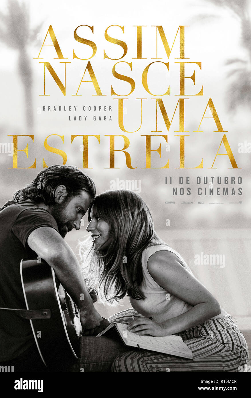 Prod DB © Warner Bros. - Gerber Pictures - Joint Effort - Malpaso Productions - Thunder Road Pictures / DR A STAR IS BORN de Bradley Cooper 2018 USA t - Stock Image