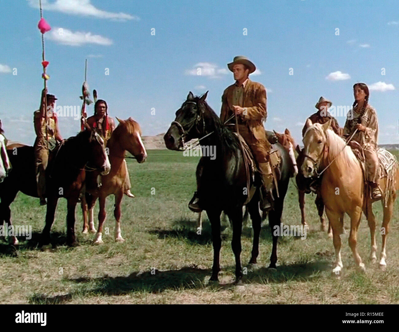 Prod DB © Universal International Pictures (UI) / DR TOMAHAWK de George Sherman 1951 USA Van Heflin Jack Oakie Susan Cabot. western; indien; indian - Stock Image