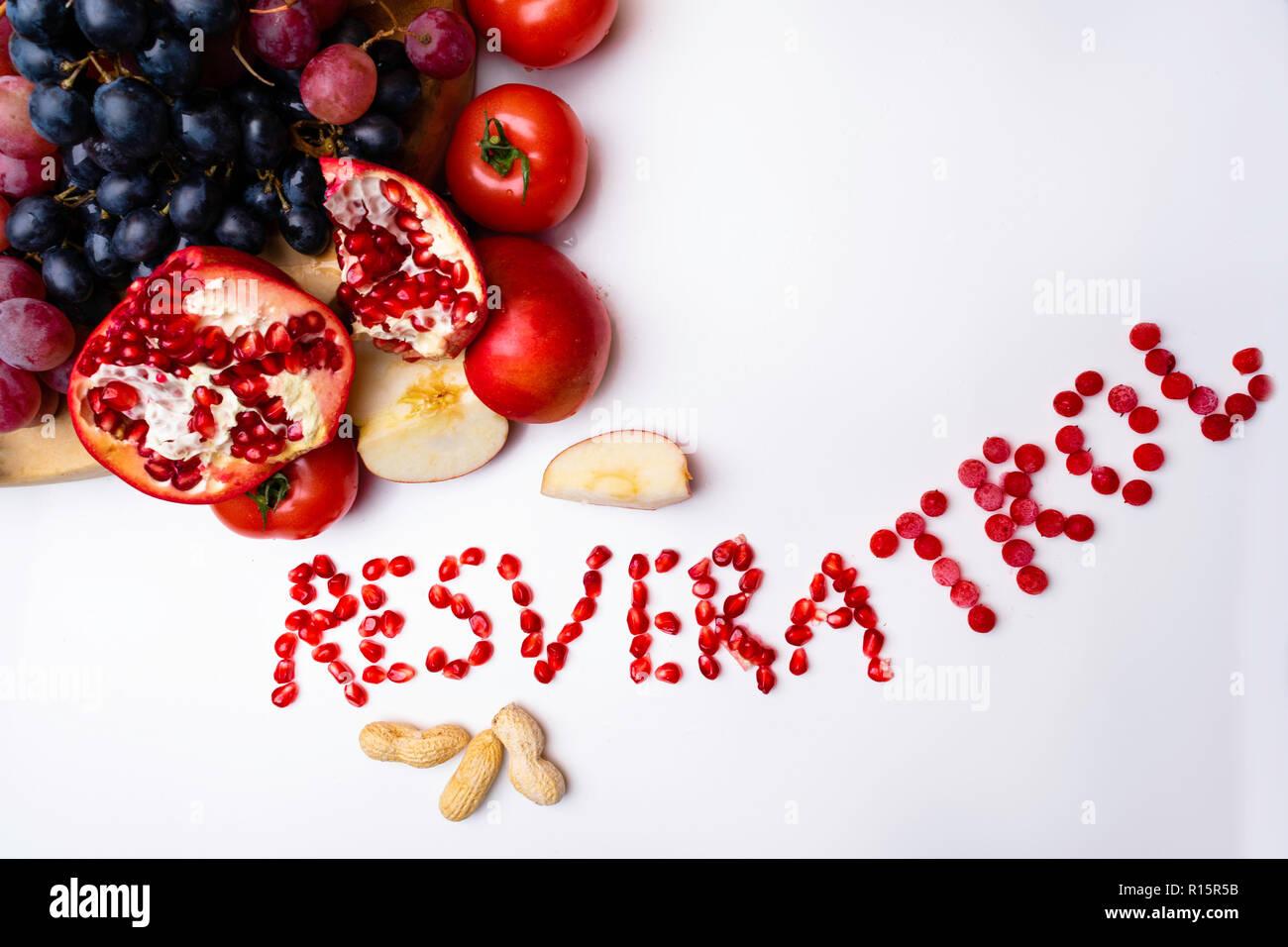 Rich With Resveratrol Food Raw Food Ingredients Nutrition