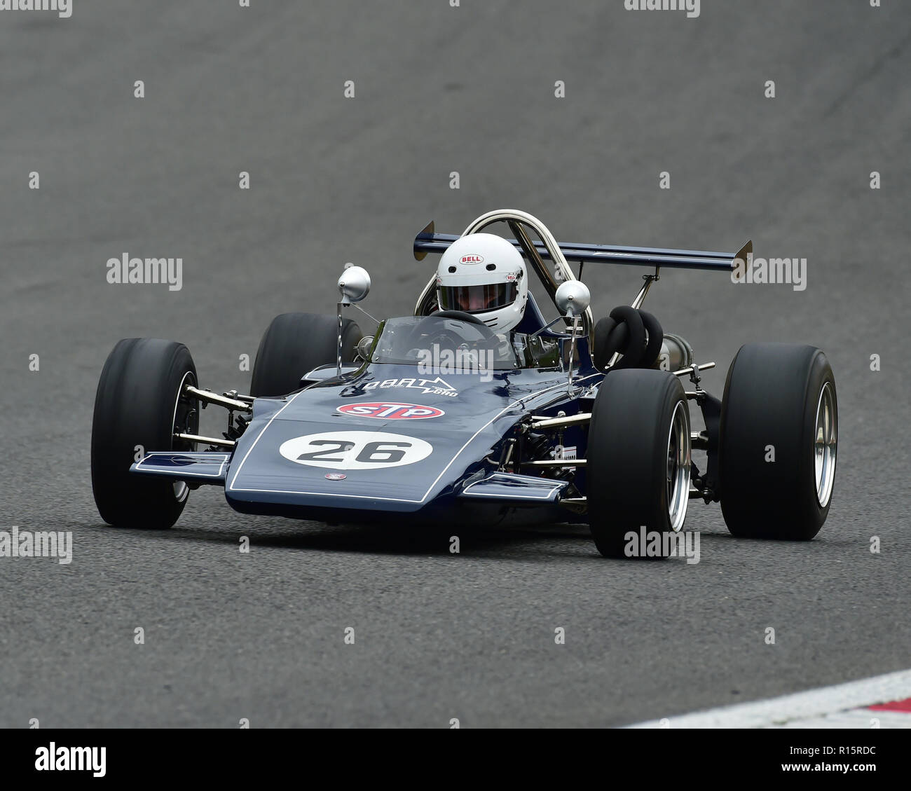 James Denty, GRD 373, Classic Formula 3, URS Classic FF2000, HSCC, Historic Race Meeting, Brands Hatch, September 2018, cars, Classic Racing Cars, His - Stock Image