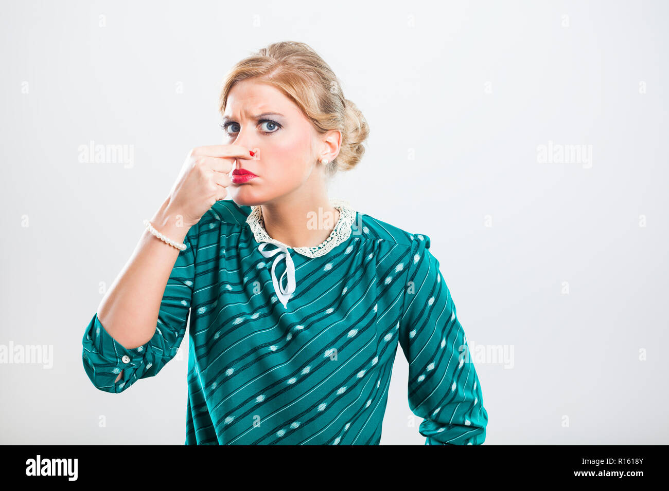 Unpleasant Smell - Stock Image