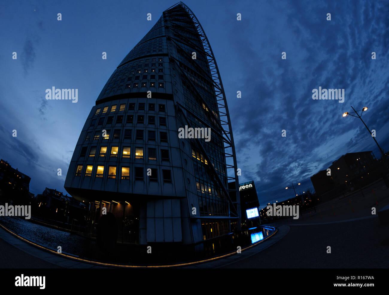 Turning Torso Malmo Sweden - Stock Image