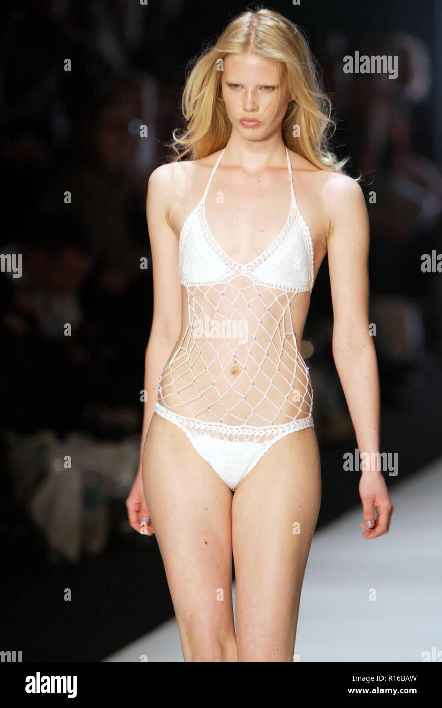8aef028dcd A mode wears a Kini bikini in the Swimwear Collection Group Show on Day  Three of Australian Fashion Week
