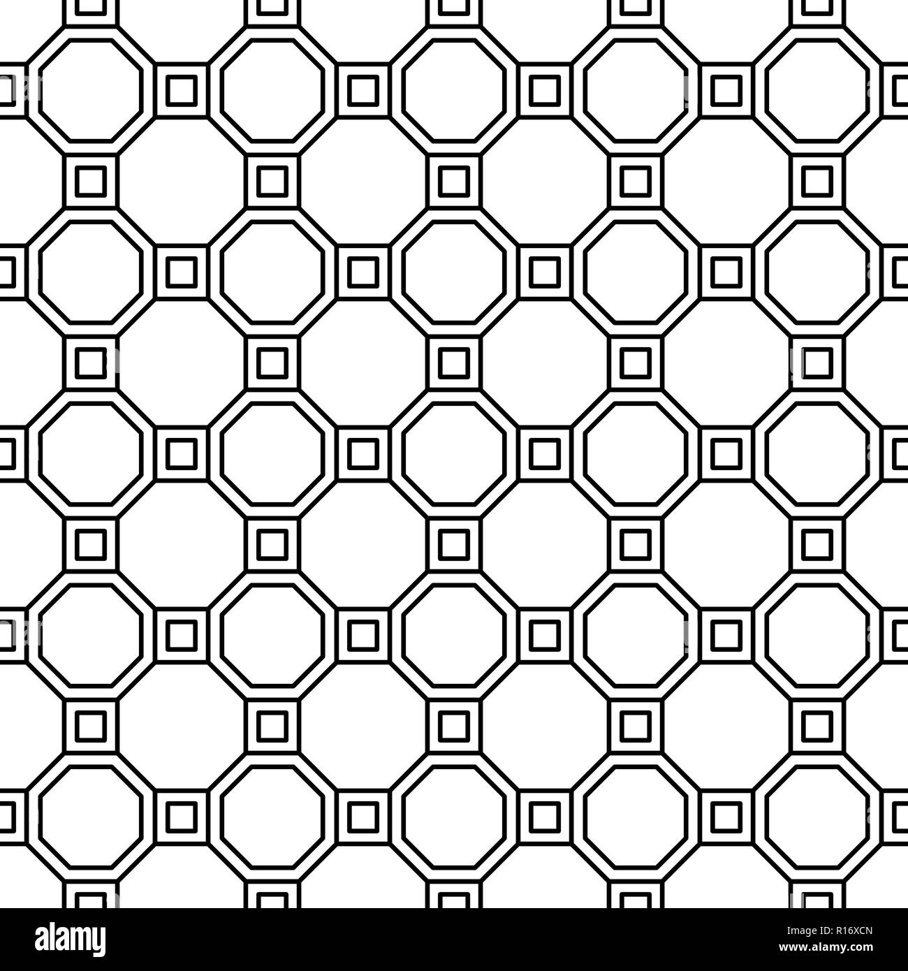 2a4a7fa4c323 Vector seamless geometric pattern. Classic Chinese ancient ornament - Stock  Image