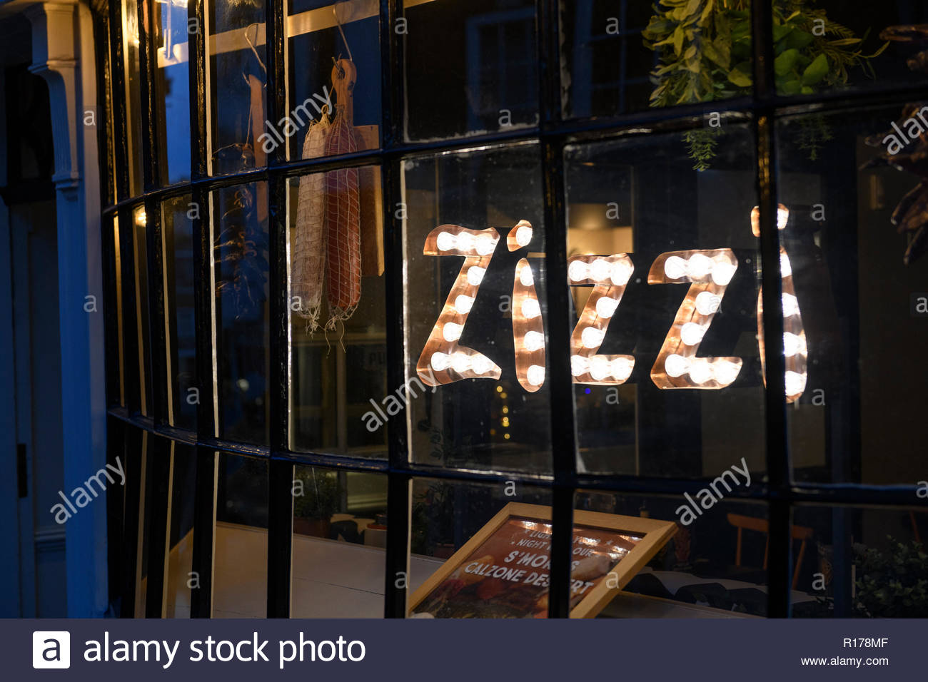 Zizzi Italian Restaurant, Winchester, Hampshire, England, UK - Stock Image