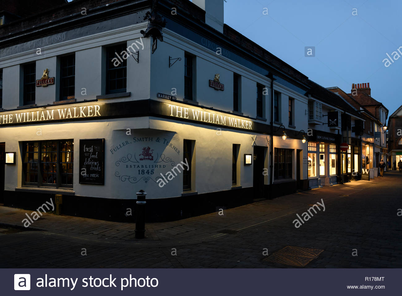 The William Walker, Winchester, Hampshire, England, UK - Stock Image