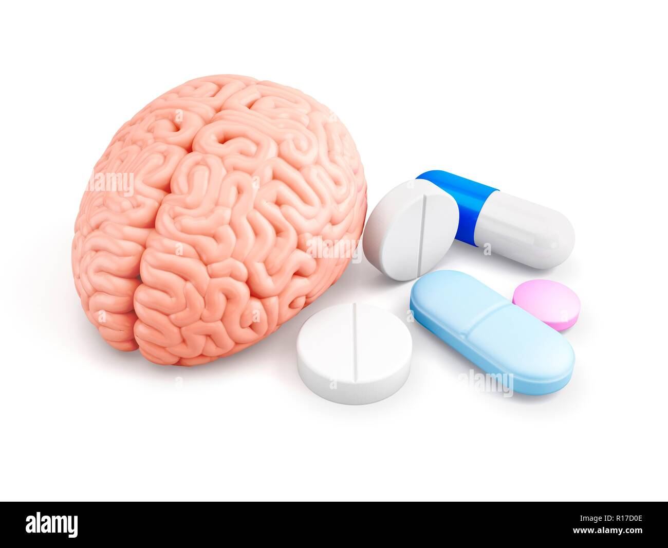 Brain Enhancing Drugs Stock Photos Brain Enhancing Drugs Stock