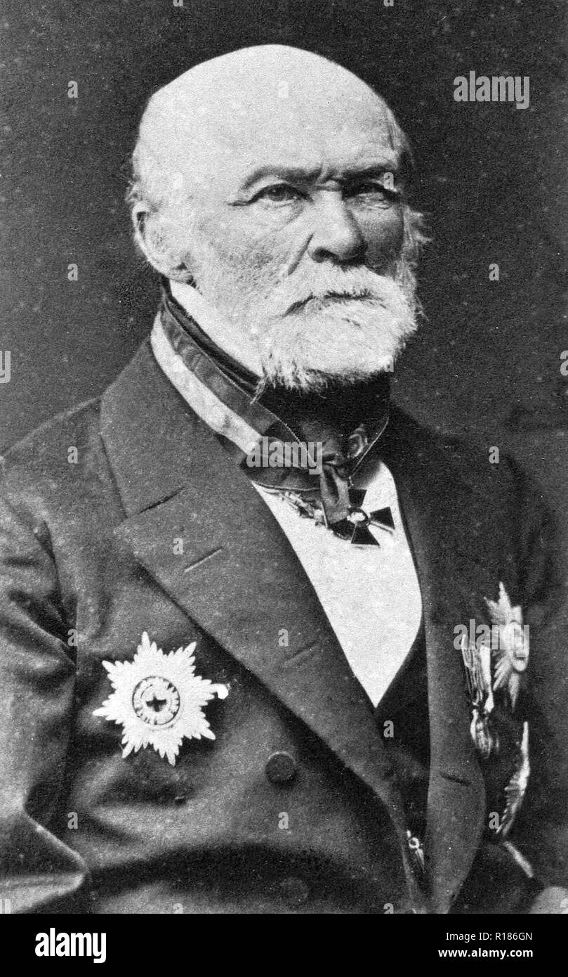 NIKOLAI PIROGOV (1810-1881) Russian scientist and physician - Stock Image