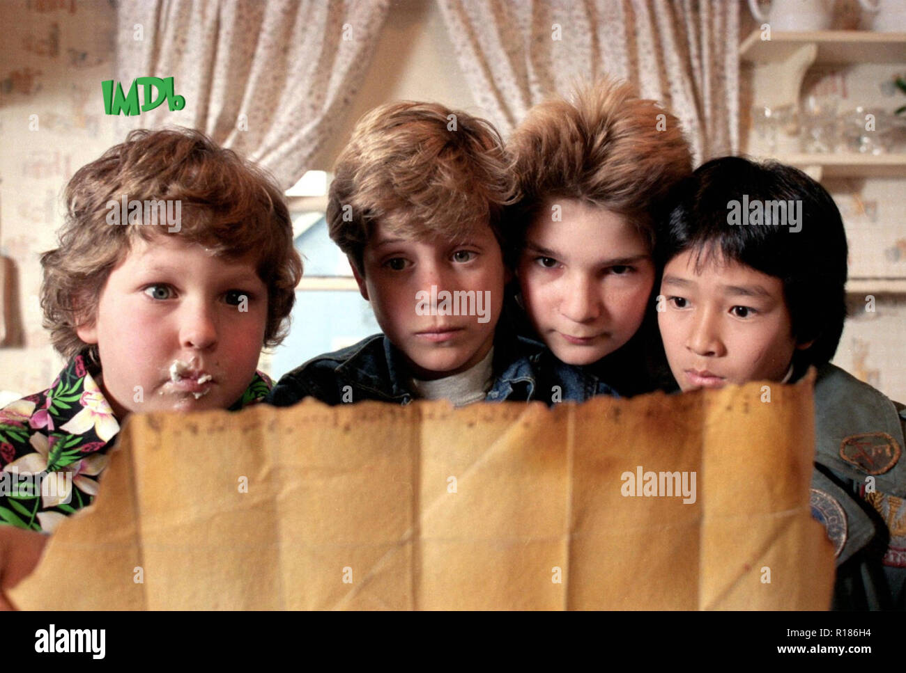 THE GOONIES 1985 Warner Bros film - Stock Image