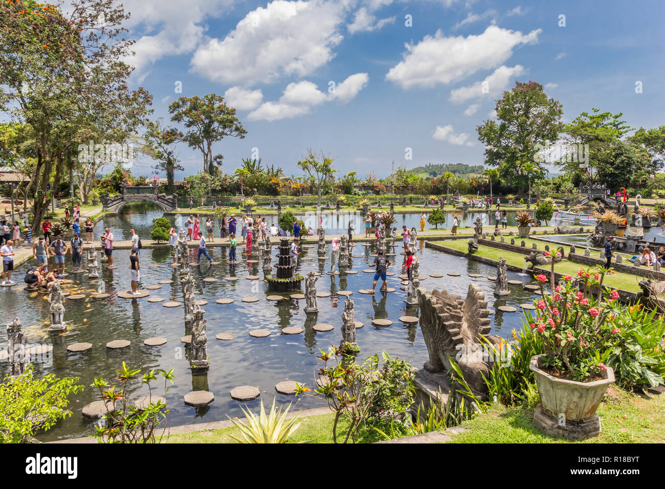 Tirta Gangga Royal Water Garden: Tirtagangga Royal Water Palace Stock Photos & Tirtagangga