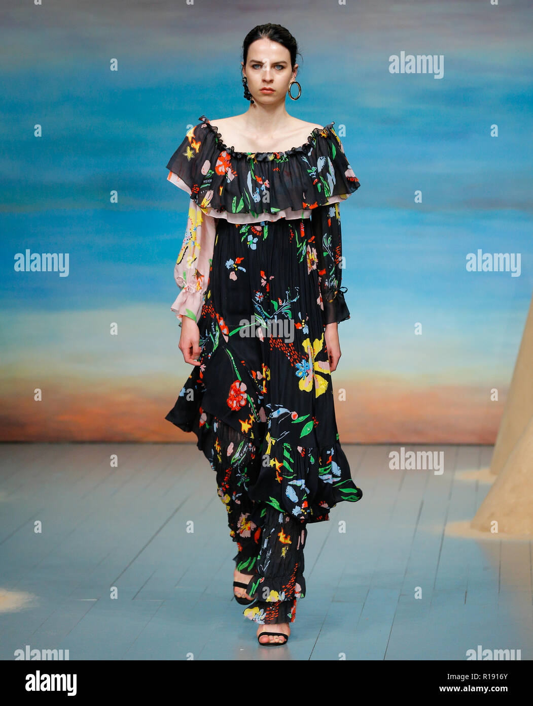 Roberta Einer Estonian Fashion Designer New Collection Catwalk At London Fashion Week Mens Summer Spring 2019 Stock Photo Alamy
