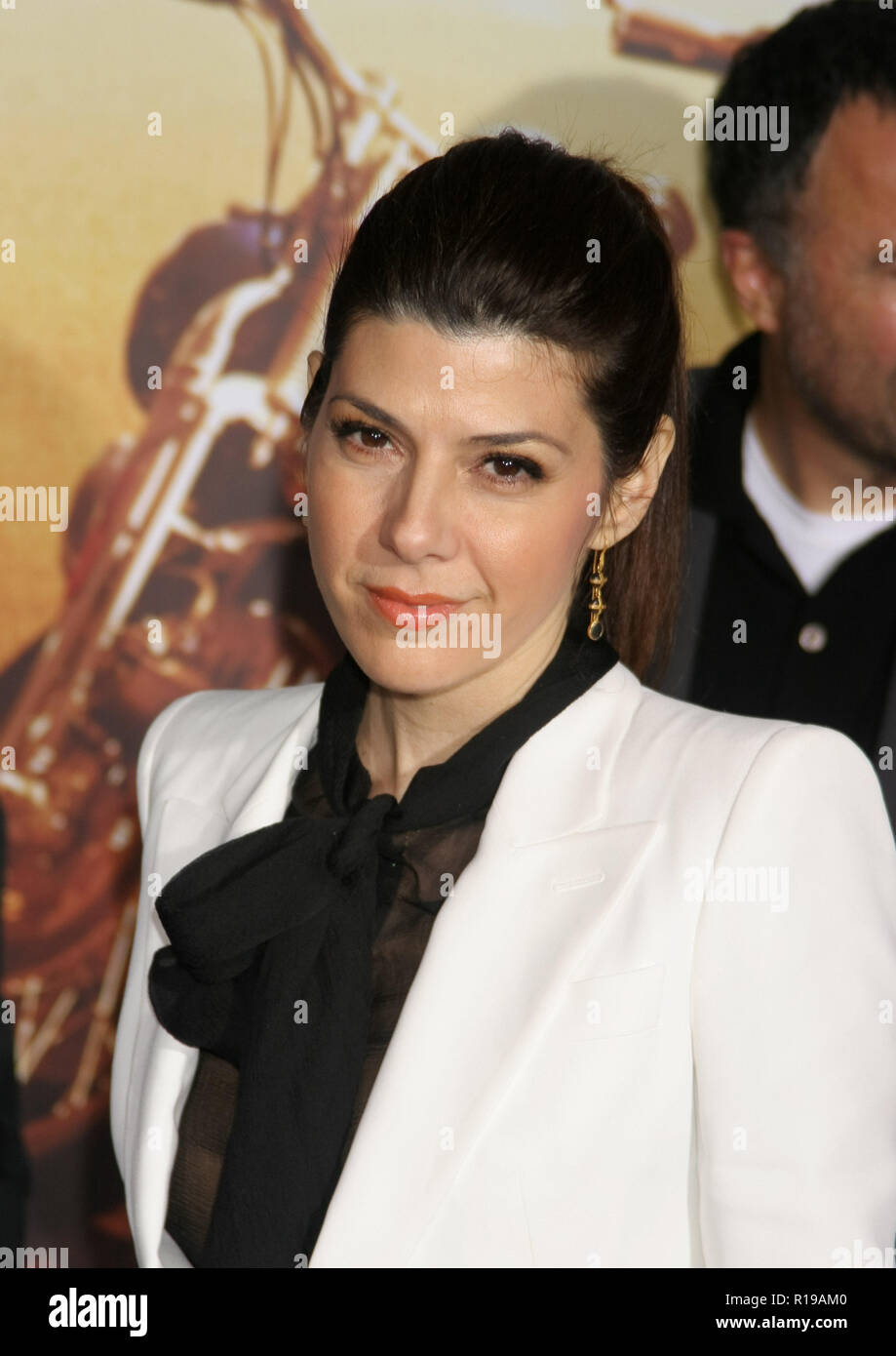 Marisa Tomei  02/27/07 'Wild Hogs'premiere  @ El Capitan Theatre, Hollywood Photo by Ima Kuroda/wHNW / PictureLux  (February 27, 2007) - Stock Image