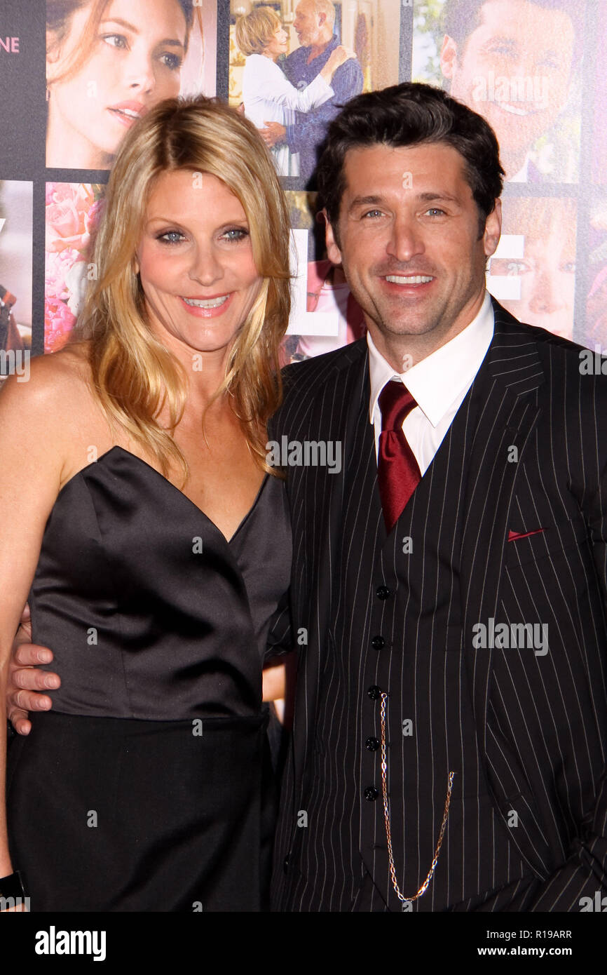 Jillian Fink And Patrick Dempsey Stock Photos Jillian Fink And