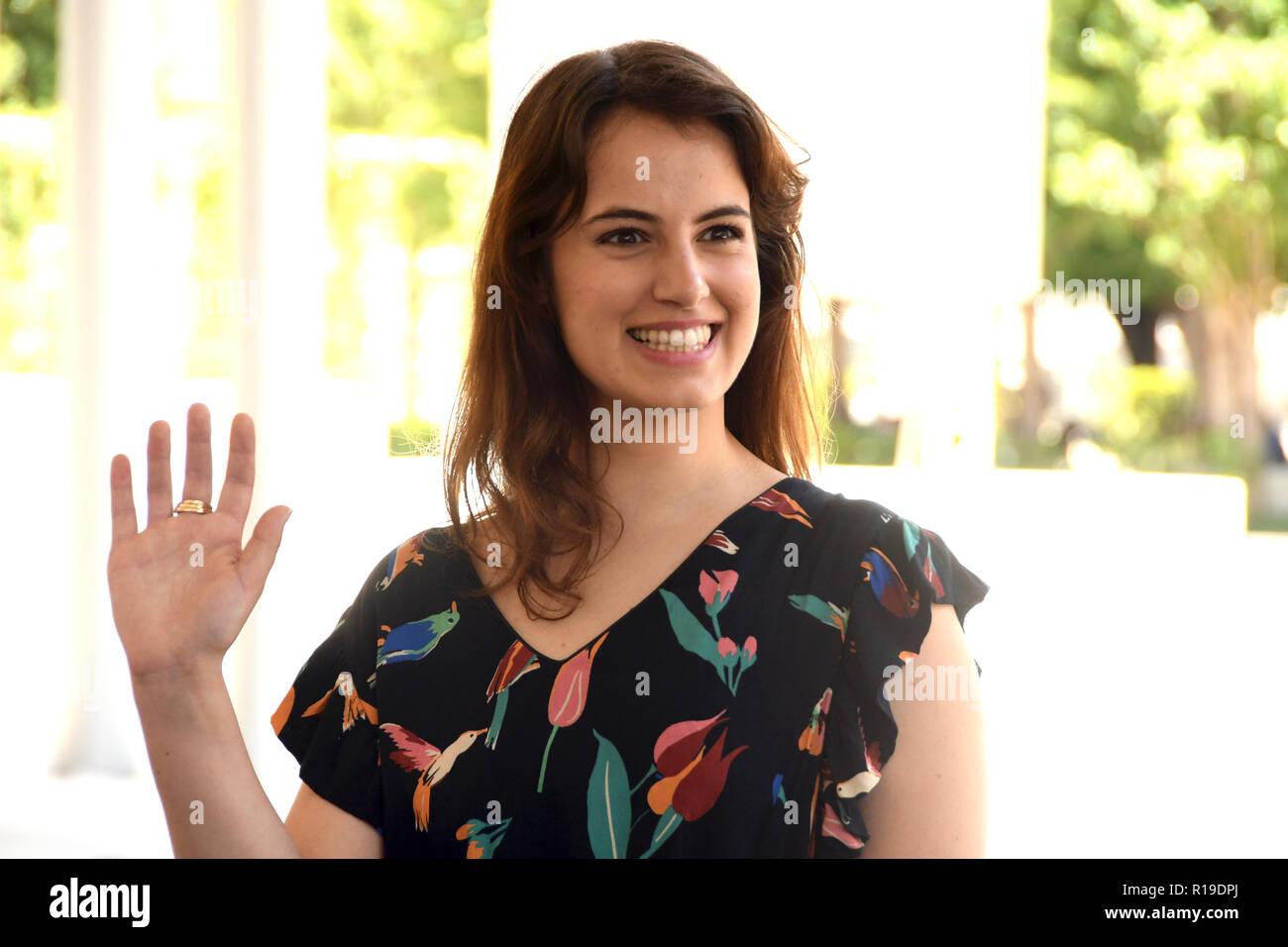 Rome 15 June 2018 - MAXXI  - film presentation DEI Angela Curri in the role of Valentina Credit Giuseppe Andidero - Stock Image