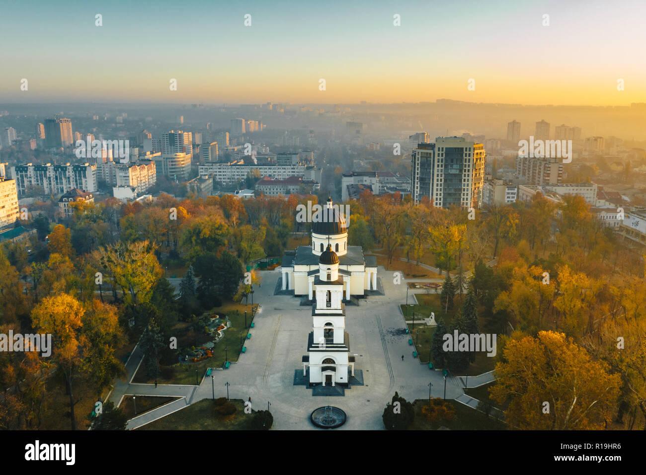 Chisinau, Republic of Moldova city centre - Stock Image