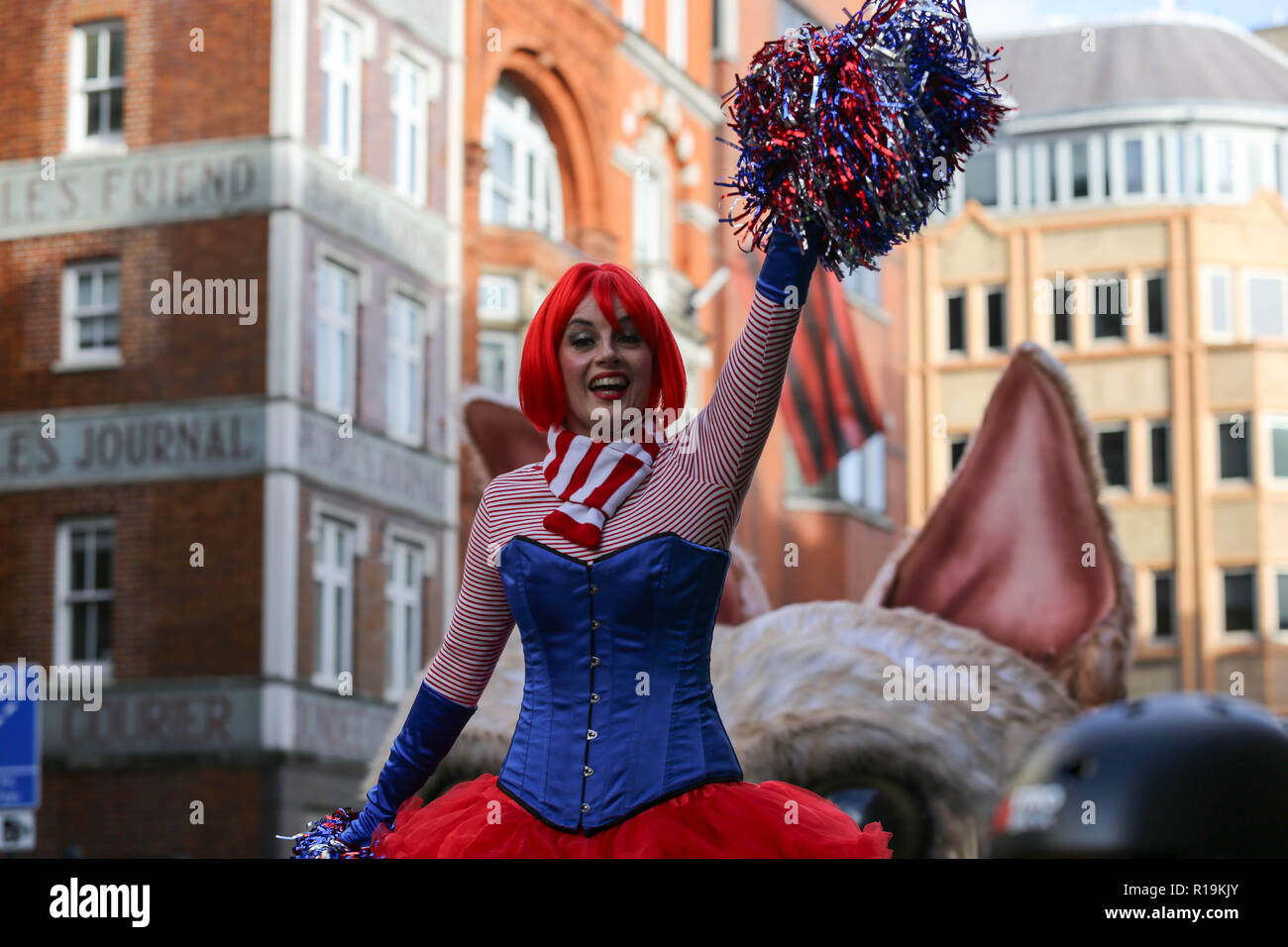 London, UK. 10th Nov, 2018. The 800 year-old tradition sees a procession march a three-mile route from Bank and Aldwych. Penelope Barritt/Alamy Live News Stock Photo