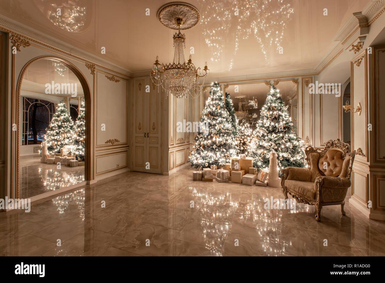 Garland Light Bulbs Christmas Evening Classic Luxurious