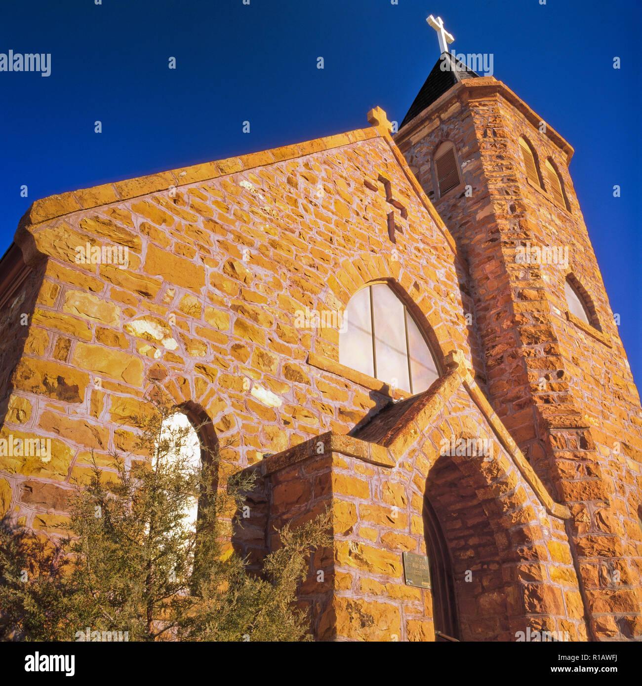 st. mary's catholic church at laurin, montana - Stock Image