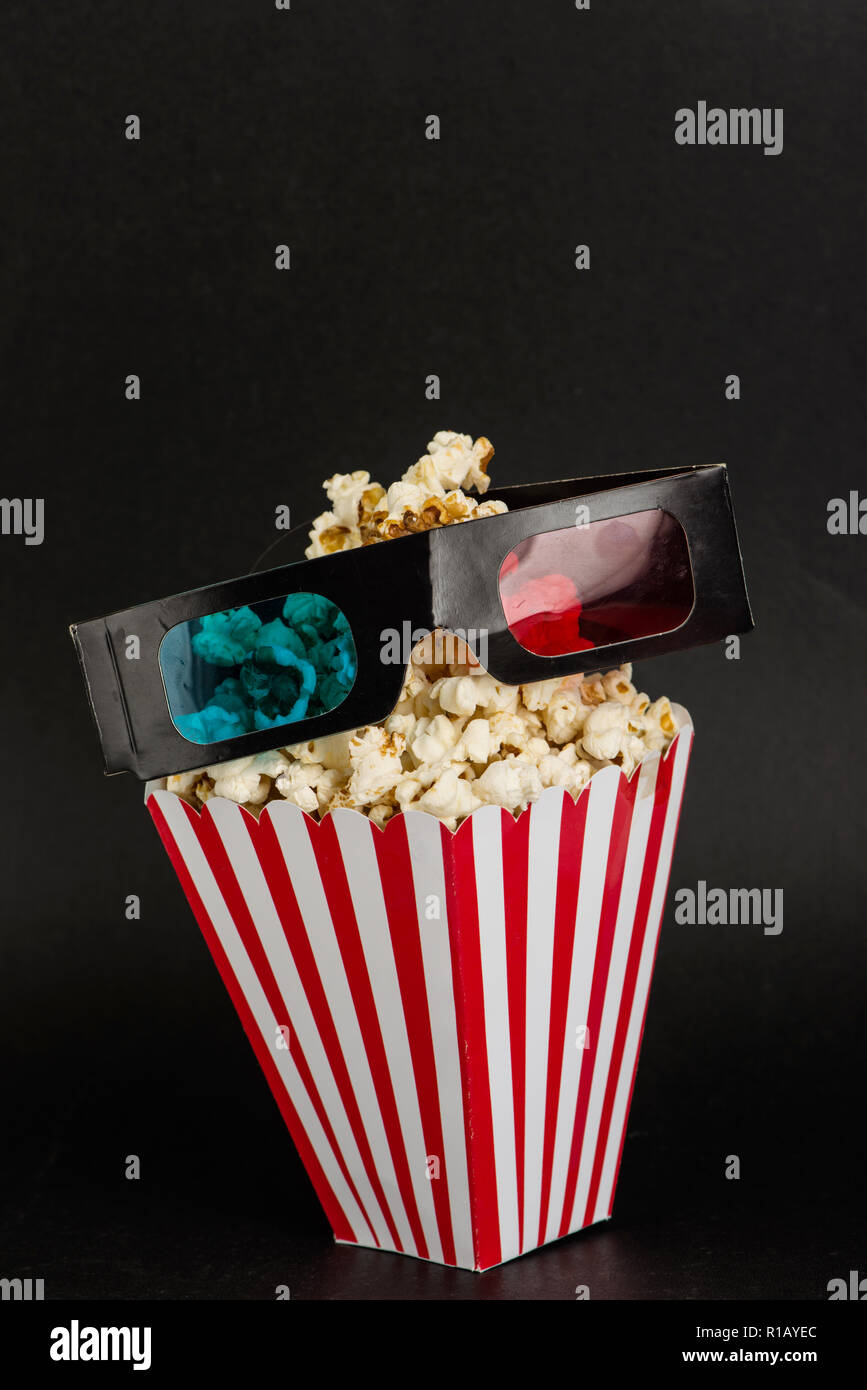 Cinema objects - Stock Image