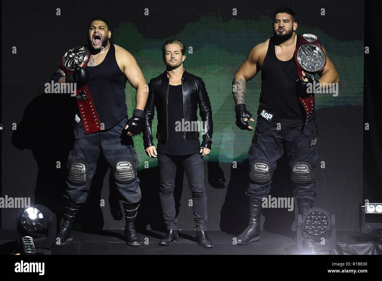 Rome, Italy. 11th Nov, 2018. Show WWE live at the Palalottomatica-Rome 10-11-2018 In the picture The AOP Photo Photographer01 Credit: Independent Photo Agency/Alamy Live News Stock Photo