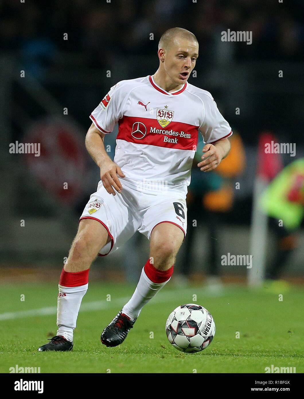 firo: 10.11.2018, Fuvuball, 1.Bundesliga, season 2018/2019, 1.FC Nvºrnberg - VFB Stuttgart 0: 2, Santiago Ascacibar, VFB, Stuttgart, VFB Stuttgart, single action | usage worldwide - Stock Image