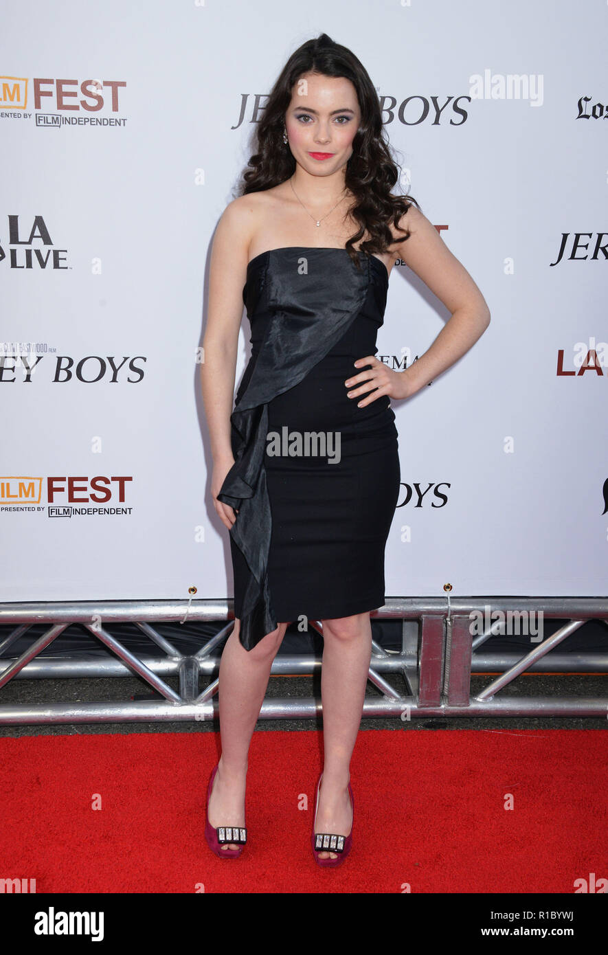 Freya Tingley At The Jersey Boys Premiere At The Regal