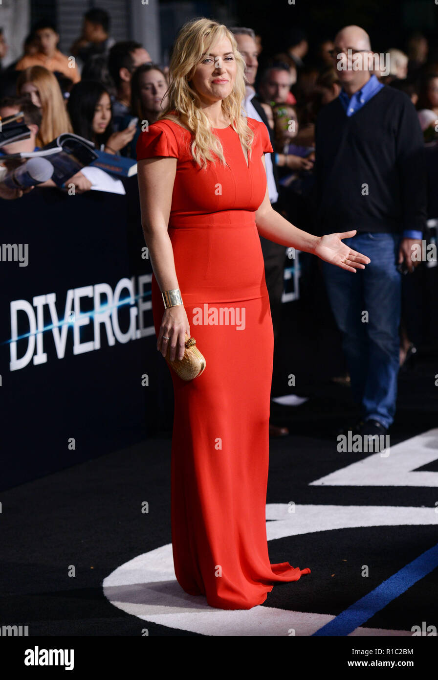 Kate Winslet 122 at the Divergent Premiere at the Westwood