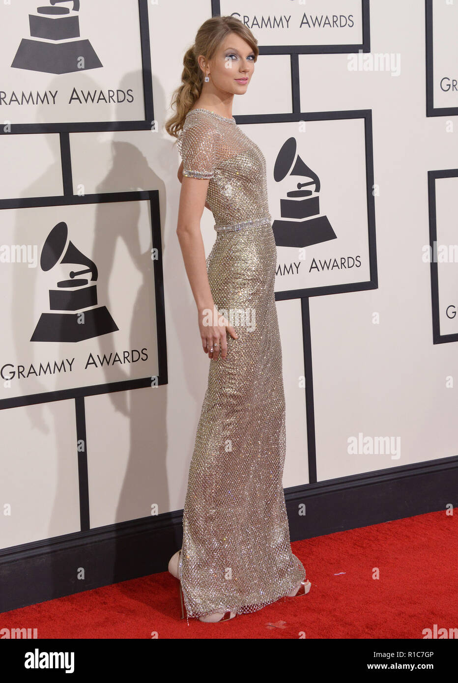 Taylor Swift Arriving At The 56th Annual Grammy Awards 2014 At The Staple Center In Los Angeles Taylor Swift 131 Event In Hollywood Life California Red Carpet Event Usa Film Industry Celebrities
