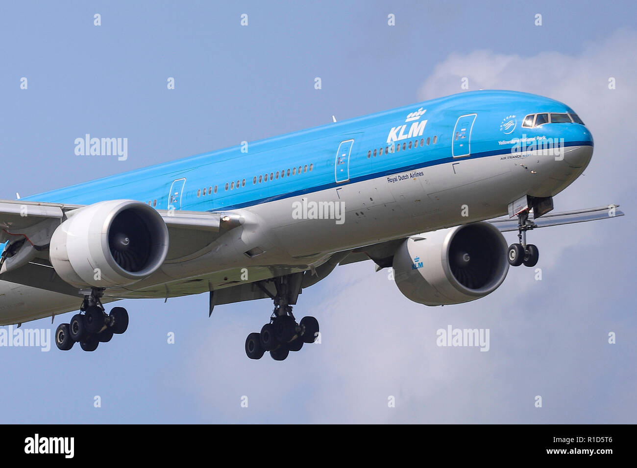 Klm Royal Dutch Airlines Boeing 777 300 A Boeing 777 300 Of Klm