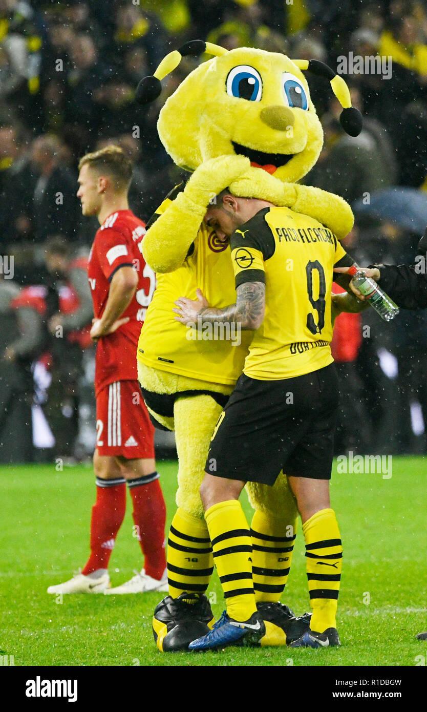 Signal Iduna Park Dortmund 10 11 2018 Fussball Bundesliga Saison 2018 19 11 Spieltag Borussia Dortmund Bvb