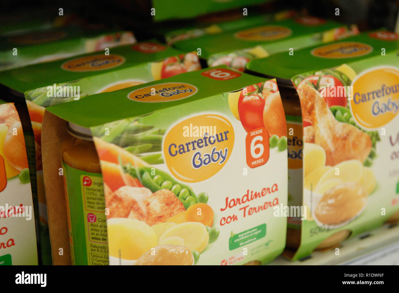 Carrefour baby,puree Stock Photo  224655019 - Alamy f3c2fbfb980