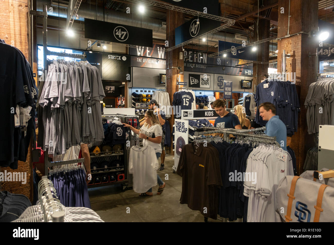 timeless design d23ea af7d8 The Padres Team Store in Petco Park, home of the San Diego ...
