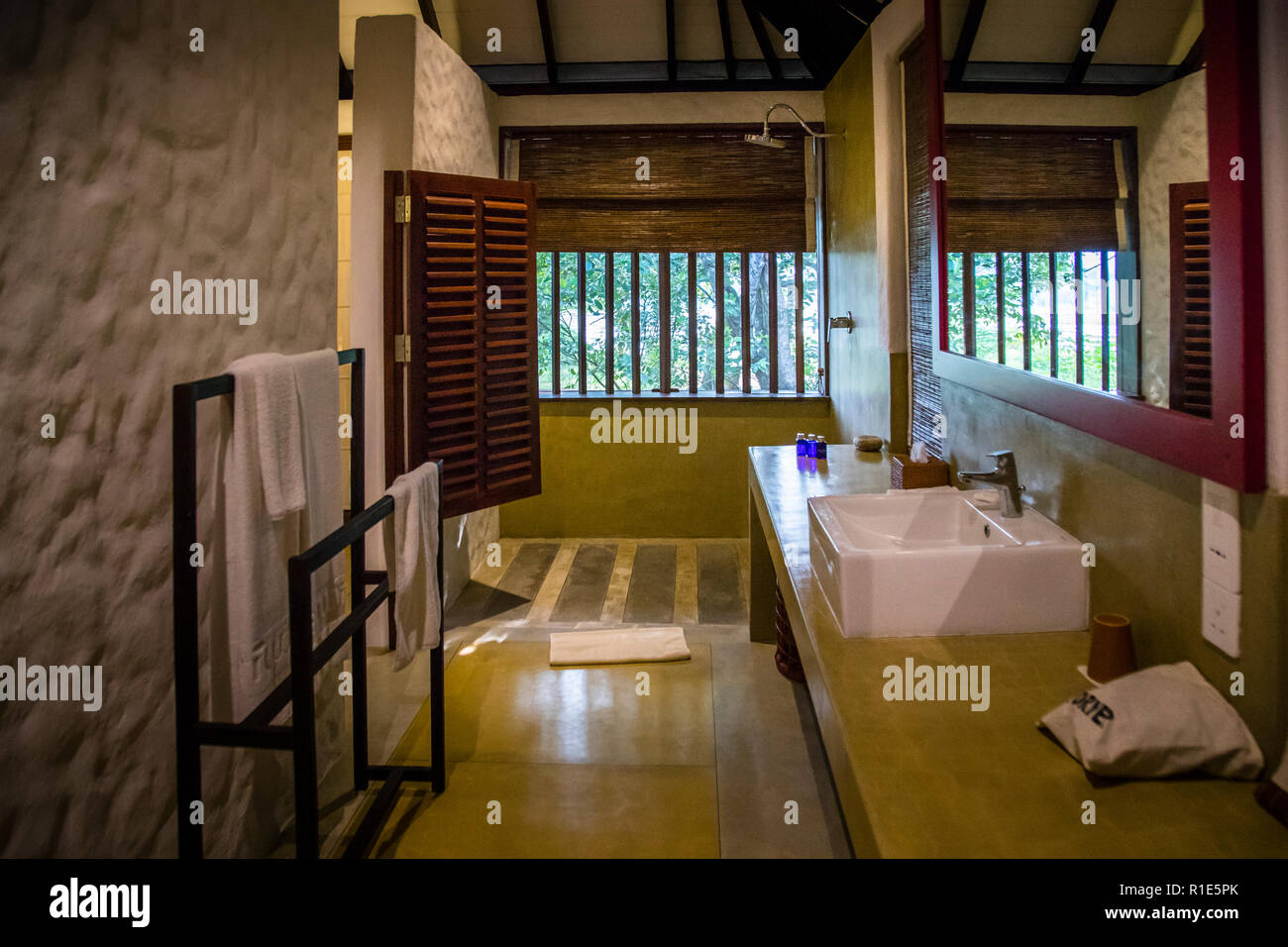 Hotel in Sri Lanka - Stock Image
