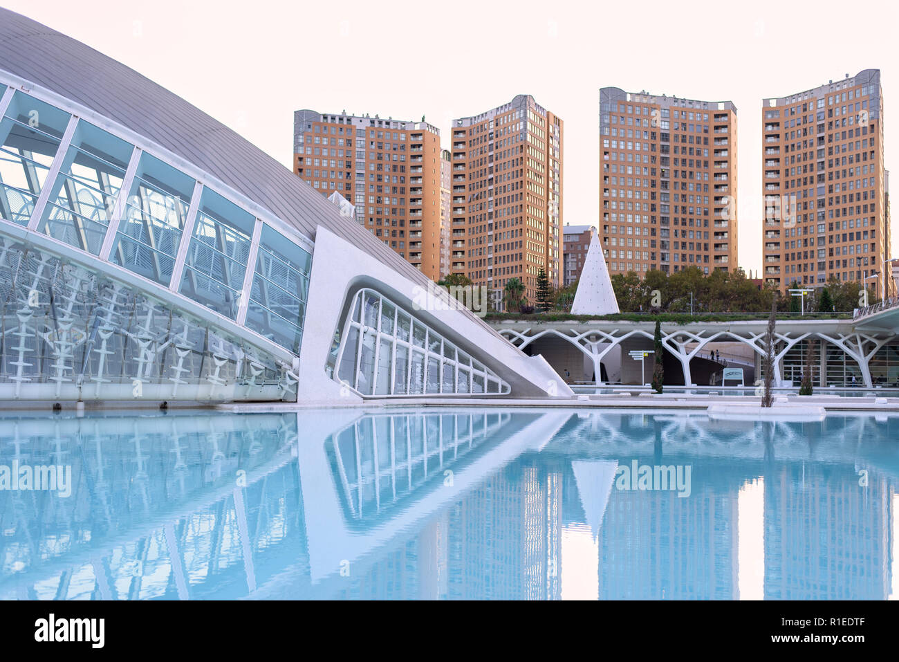 City of Arts and Sciences in Valencia, Spain Stock Photo