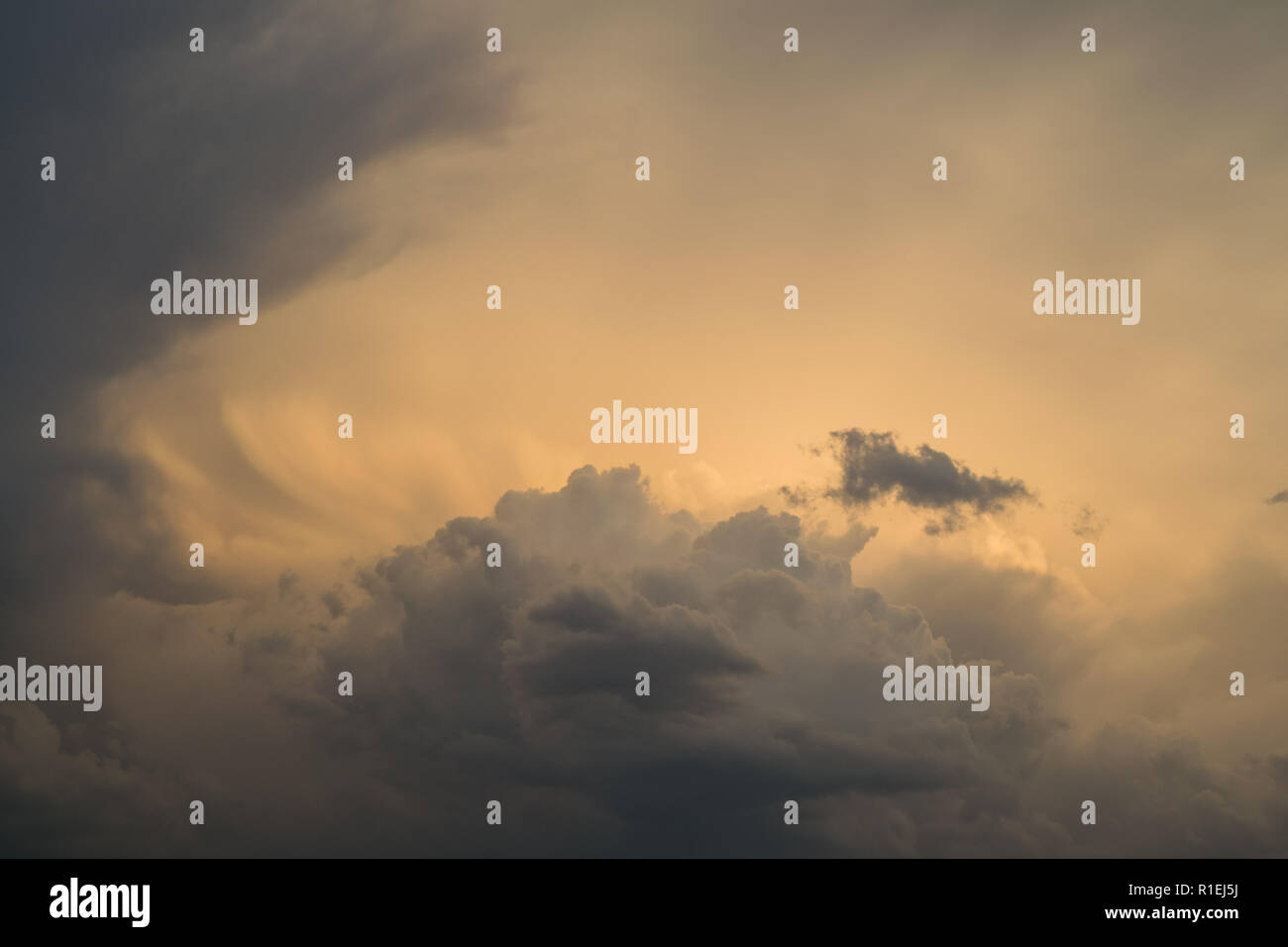 Dreamy Clouds to Daydream - Stock Image