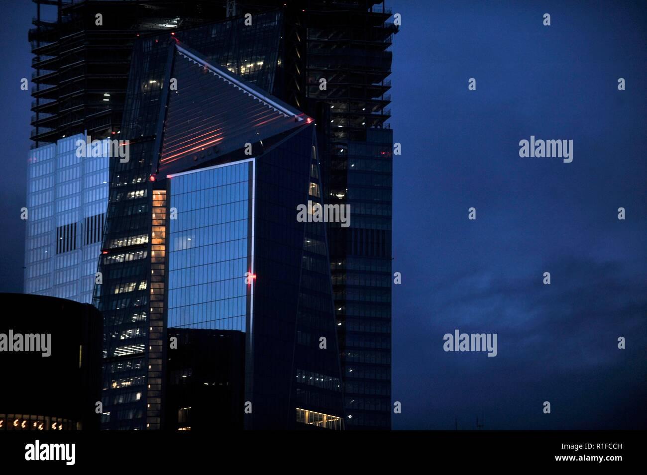 Scalpel, London's latest super sky scraper - Stock Image
