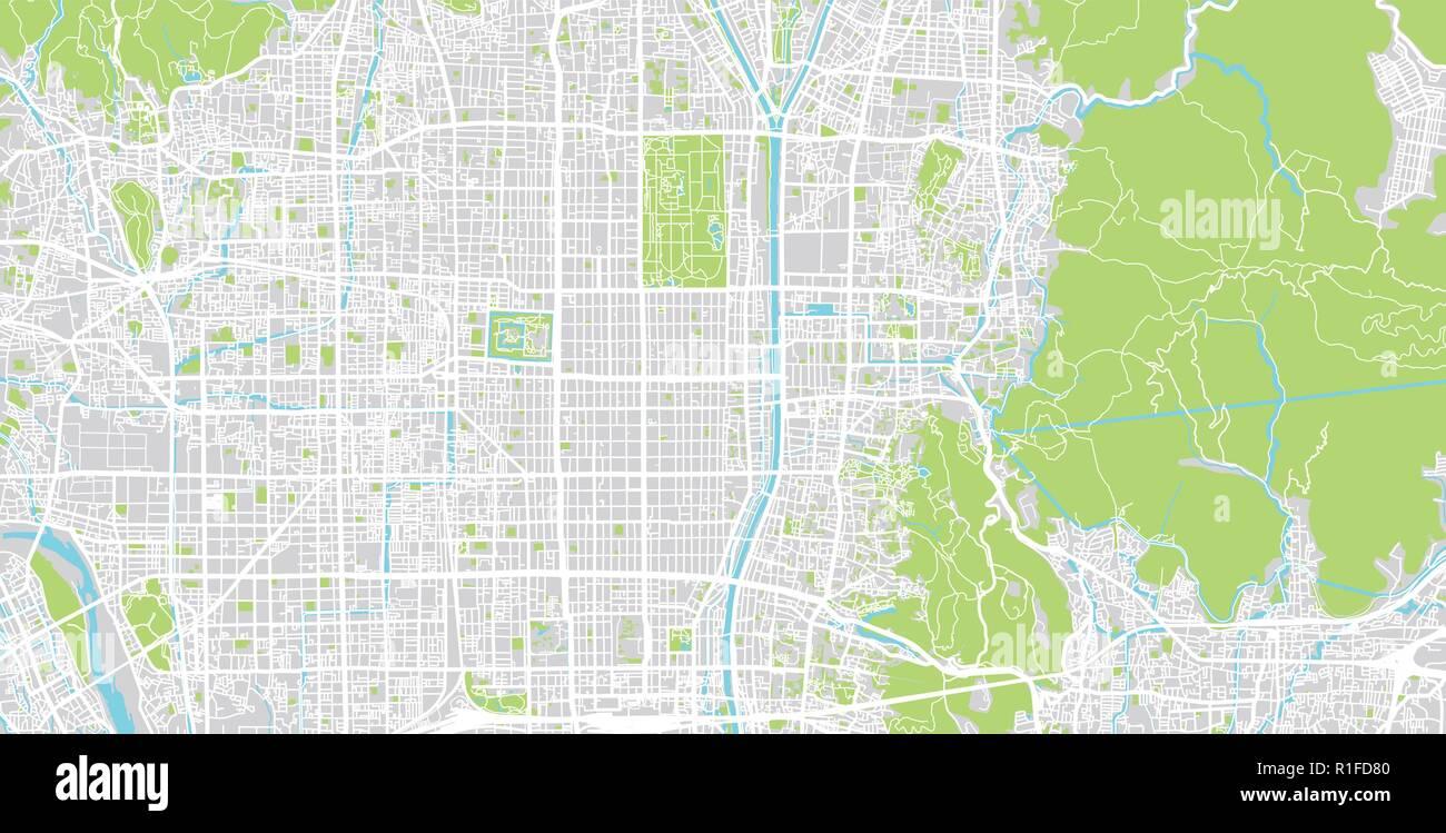 Urban vector city map of Kyoto, Japan Stock Vector Art ... on koyasan japan map, osaka japan map, edo japan map, kamakura japan map, toba japan map, capital of japan, hiroshima map, himeji castle, atsugi japan map, sea of japan map, sapporo japan map, yakushima japan map, nagasaki japan map, mount fuji, nara japan map, yamato japan map, osaka castle, kobe japan map, okinawa japan map, bali indonesia map, maizuru japan map, yokohama japan map, agra map, mt. fuji japan map,