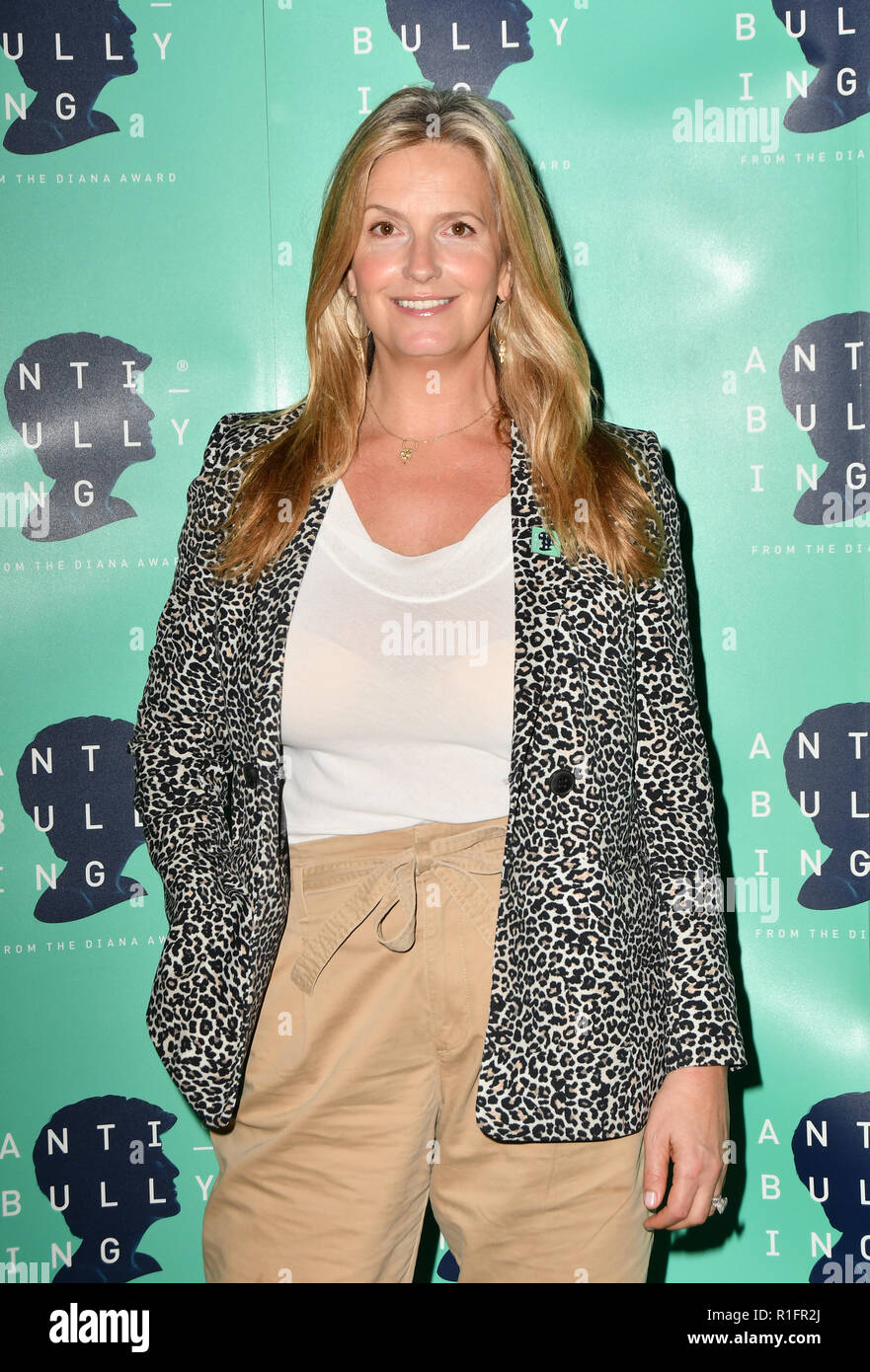 London, UK. 12th November, 2018. Penny Lancaster attend The Diana Award anti