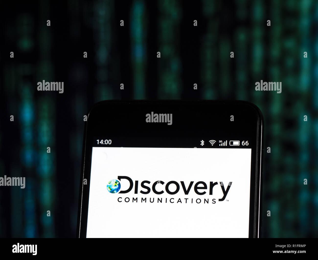Kiev Ukraine 25th Oct 2018 Discovery Inc Mass Media