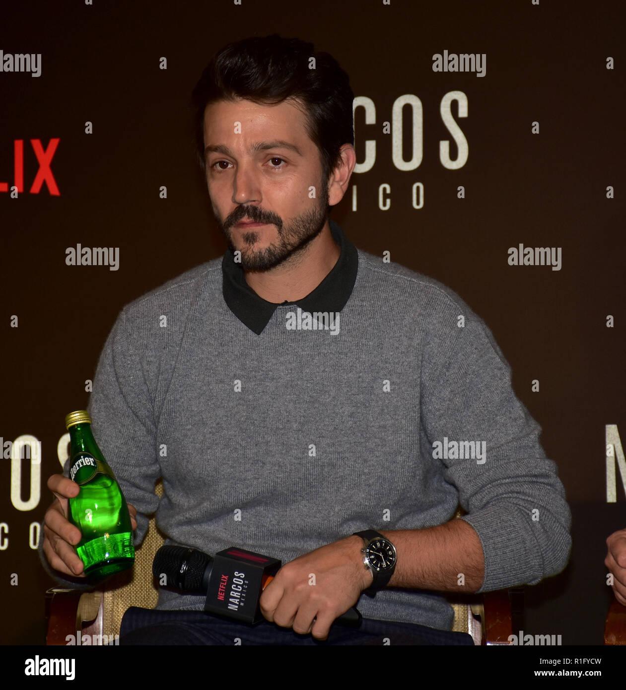 Mumbai, India  12th Nov, 2018  Mexican actor Diego Luna seen