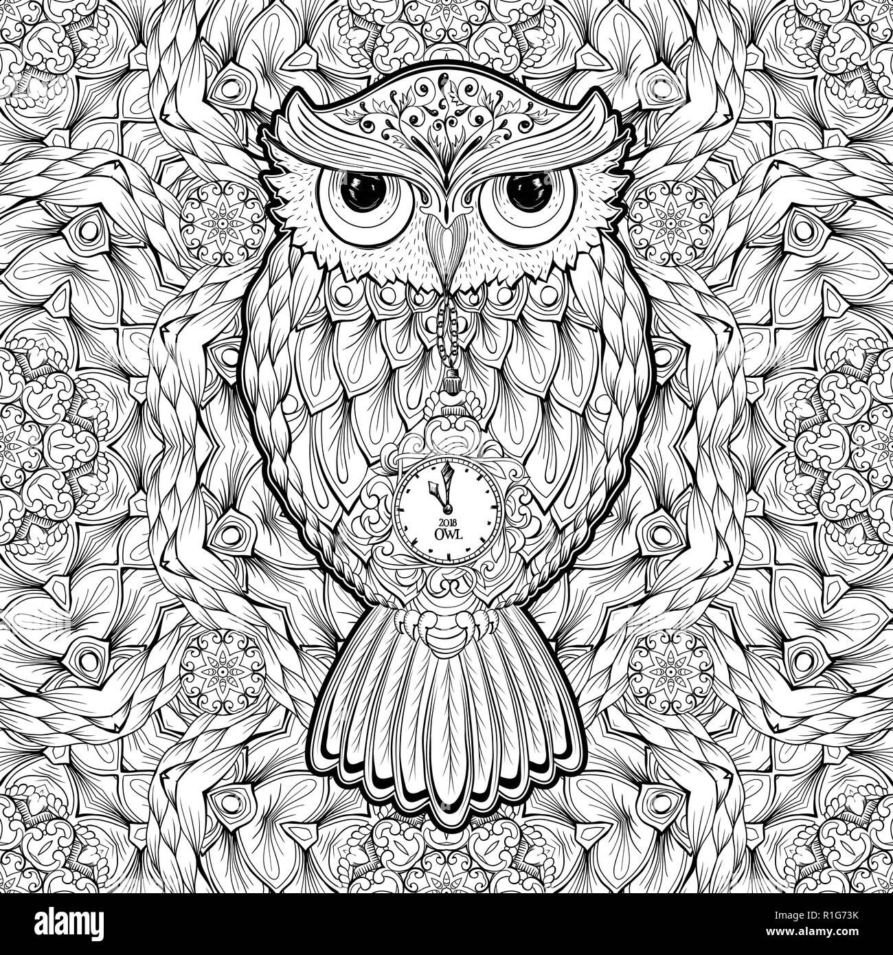 coloring pages owls.html