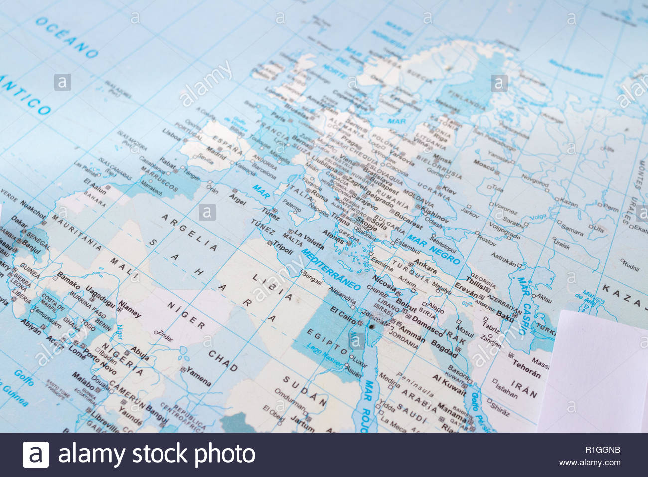 old school world map Stock Photo: 224713815 - Alamy