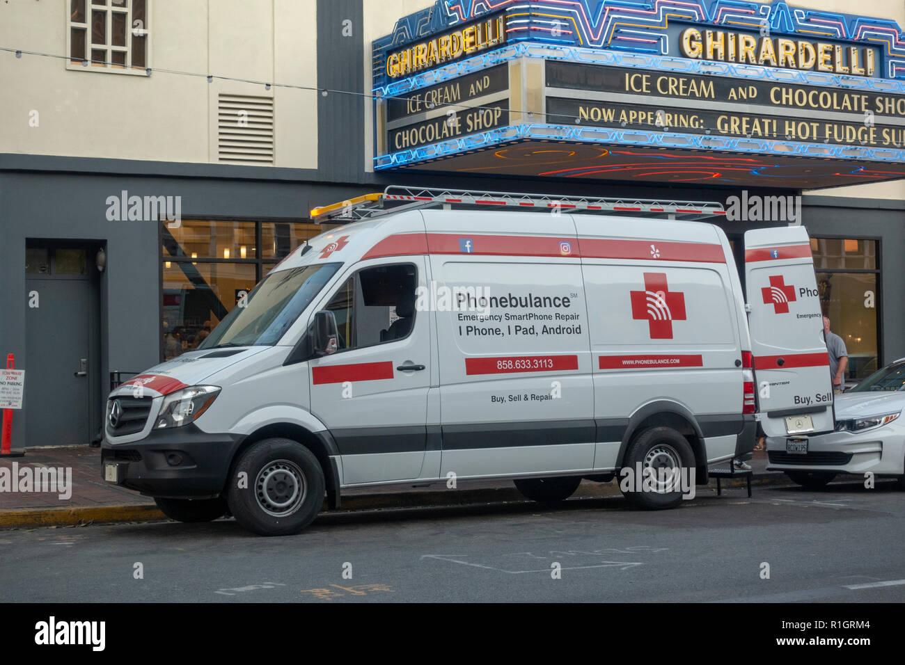 Mobile Repair Van Stock Photos & Mobile Repair Van Stock Images - Alamy