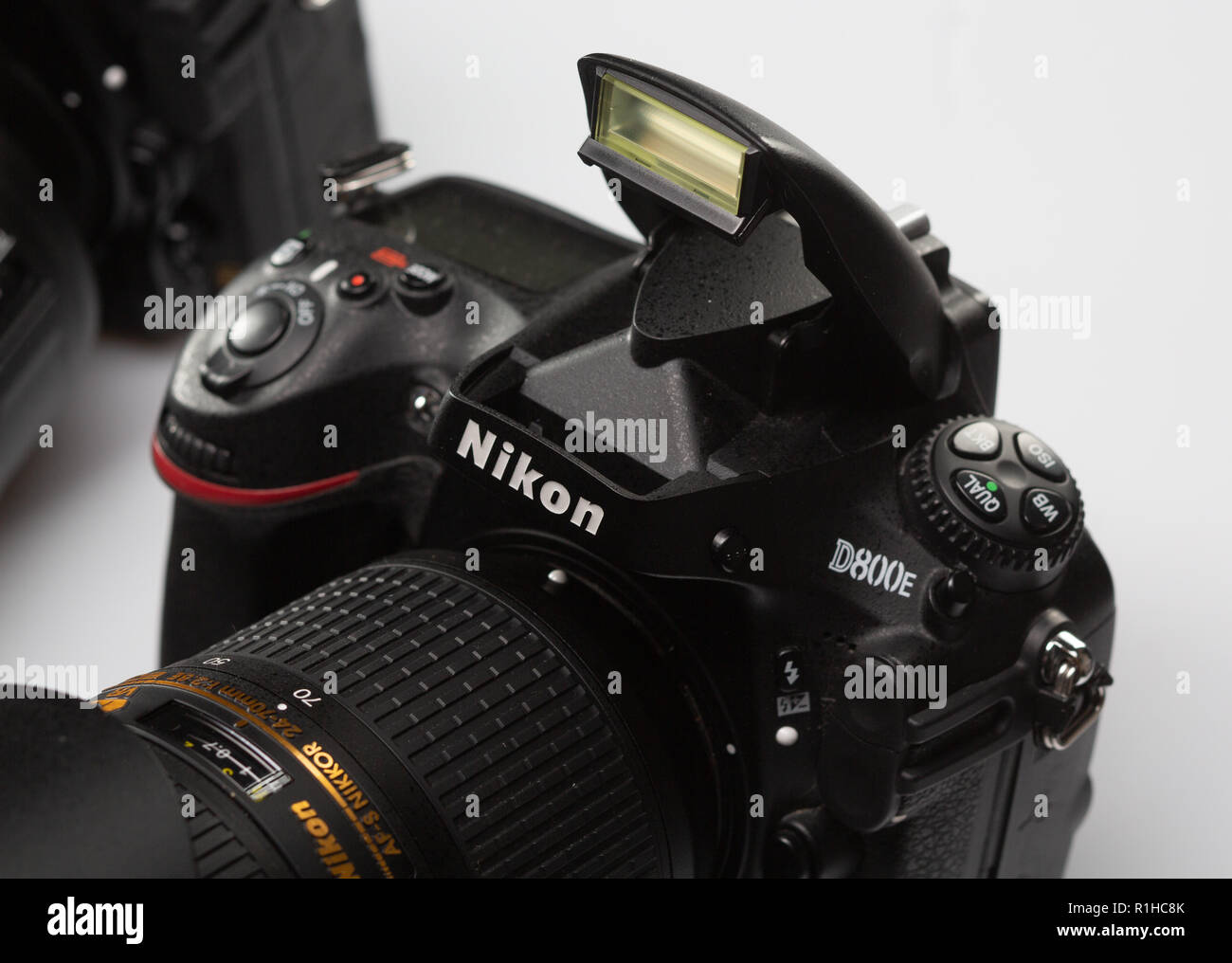 SAINT-PETERSBURG, RUSSIA - APRIL 27, 2018: Nikon D800E SLR Camera - Stock Image
