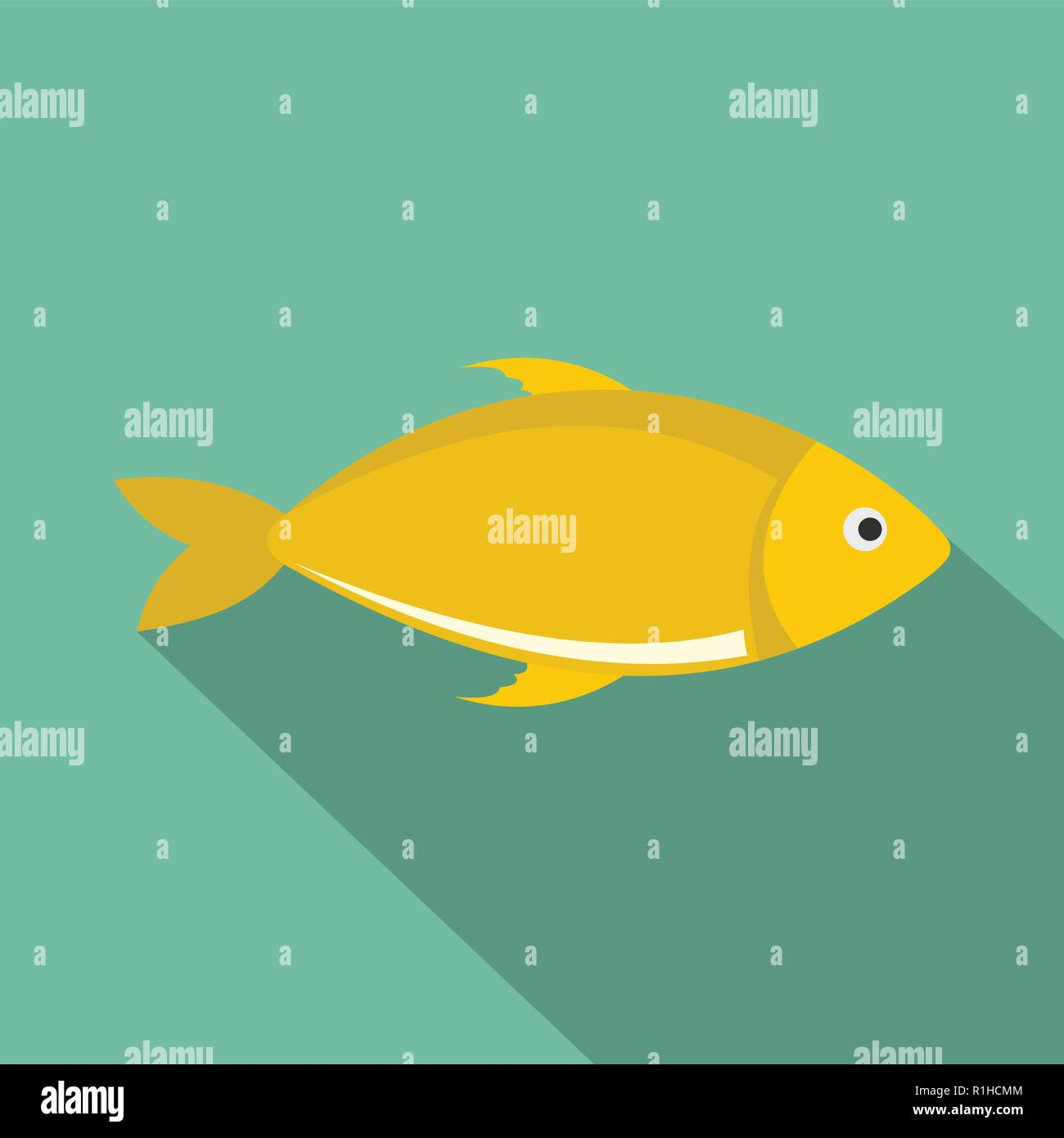 Cartoon talking fish — Stock Vector © lineartestpilot #61155837