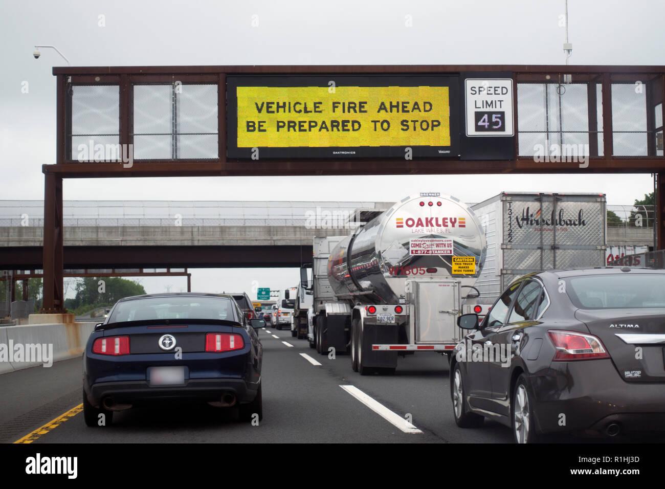 vehicle accident Washington Dc Stock Photo: 224736833 - Alamy