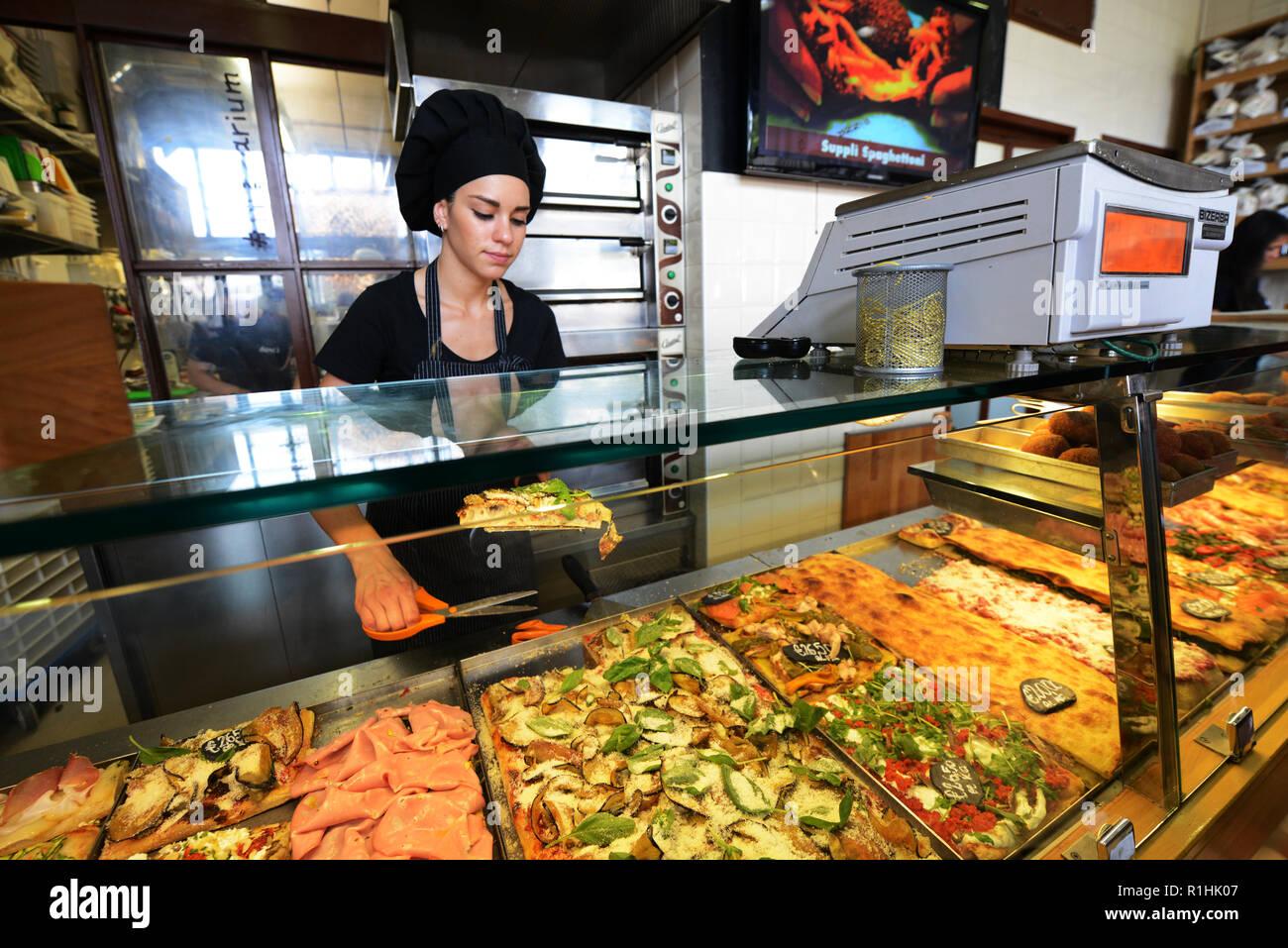 Pizzeria bonci roma