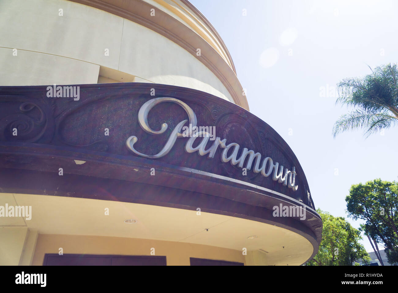 Paramount Studios in Hollywood, USA - Stock Image