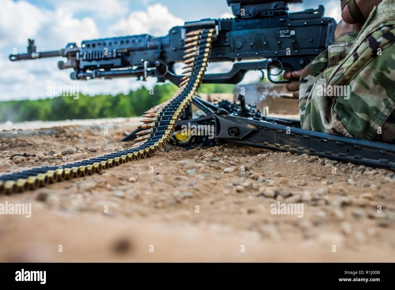 Machine Gun Instruction Stock Photos & Machine Gun